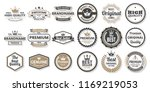 vintage retro vector logo for... | Shutterstock .eps vector #1169219053