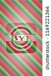 bye christmas emblem background. | Shutterstock .eps vector #1169221366