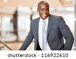 cheerful african american... | Shutterstock . vector #116922610