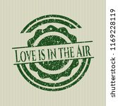 green love is in the air rubber ... | Shutterstock .eps vector #1169228119