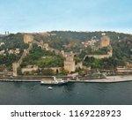aerial view of rumeli castle in ... | Shutterstock . vector #1169228923