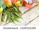 jewish festival of sukkot.... | Shutterstock . vector #1169231350