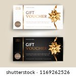 vector set of luxury gift... | Shutterstock .eps vector #1169262526