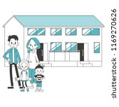 two generational households... | Shutterstock .eps vector #1169270626