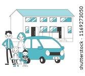 two generational households... | Shutterstock .eps vector #1169273050