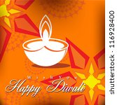 abstract vector card design... | Shutterstock .eps vector #116928400