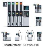 vector modern petrol or gas... | Shutterstock .eps vector #116928448