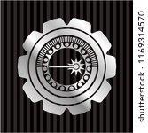 laser icon inside silver badge... | Shutterstock .eps vector #1169314570