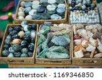 jade and bracelets at market in ...   Shutterstock . vector #1169346850