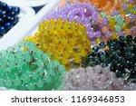 jade and bracelets at market in ...   Shutterstock . vector #1169346853