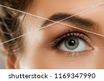 close up of female eye with a... | Shutterstock . vector #1169347990