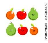 Fruit Happy And Sad Emoji...