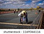 a bridge engineer inspecting... | Shutterstock . vector #1169366116