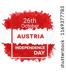 happy austria independence day  ... | Shutterstock .eps vector #1169377783