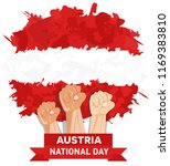 happy austria independence day  ... | Shutterstock .eps vector #1169383810
