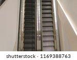 modern escalator select focus... | Shutterstock . vector #1169388763