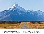 mount cook  the highest...   Shutterstock . vector #1169394700