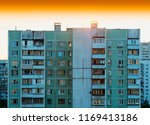 moscow suburbs during sunset ... | Shutterstock . vector #1169413186