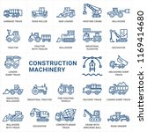 construction machinery vector... | Shutterstock .eps vector #1169414680