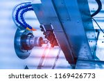 milling cutting metalworking... | Shutterstock . vector #1169426773