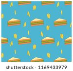 colorful seamless unhealthy... | Shutterstock .eps vector #1169433979