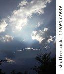 beautiful sky sunlight beyond... | Shutterstock . vector #1169452939