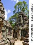 corner in the ta keo temple of... | Shutterstock . vector #1169460610