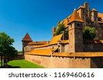 malbork castle in poland | Shutterstock . vector #1169460616