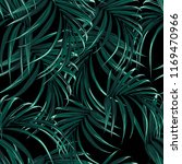 tropical background with jungle ... | Shutterstock .eps vector #1169470966