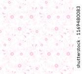 beautiful floral seamless... | Shutterstock .eps vector #1169480083