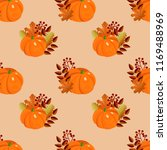 seamlless vector pattern of... | Shutterstock .eps vector #1169488969