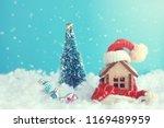 christmas  new year festive... | Shutterstock . vector #1169489959