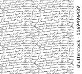black handwritten text on white ... | Shutterstock . vector #1169496439