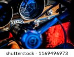 Dash And Steering Wheel Of A...