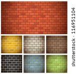 Different Color Brick Textures...