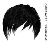 trendy woman short  hairs... | Shutterstock .eps vector #1169518090