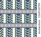 seamless pattern  traditional... | Shutterstock .eps vector #1169520790