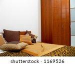 bedroom interior | Shutterstock . vector #1169526