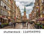 gdansk poland 05.24.2018 ... | Shutterstock . vector #1169545993