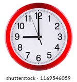 wall clock isolated on white... | Shutterstock . vector #1169546059