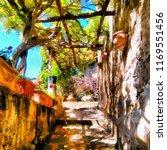 oil painting. art print for... | Shutterstock . vector #1169551456