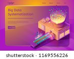 big data systematization... | Shutterstock .eps vector #1169556226