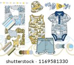 vector illustration of baby... | Shutterstock .eps vector #1169581330