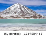 view of laguna verde and the... | Shutterstock . vector #1169604466