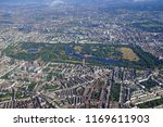 aerial view of central london... | Shutterstock . vector #1169611903