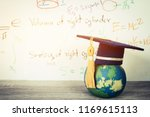 education graduate mortarboard... | Shutterstock . vector #1169615113