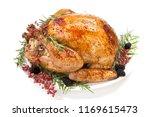 thanksgiving pepper roasted... | Shutterstock . vector #1169615473