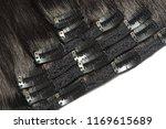 clip in straight black human...   Shutterstock . vector #1169615689