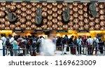 india   11 aug   indira gandhi... | Shutterstock . vector #1169623009
