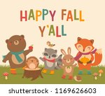 """happy fall y all"" typography... 